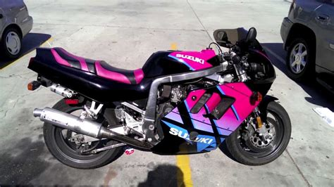 Suzuki 750cc Bike 1992 Suzuki Gsx R 750cc Motorcycle