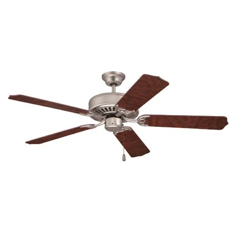 brushed nickel ceiling fan without light craftmade pro builder brushed satin nickel ceiling fan