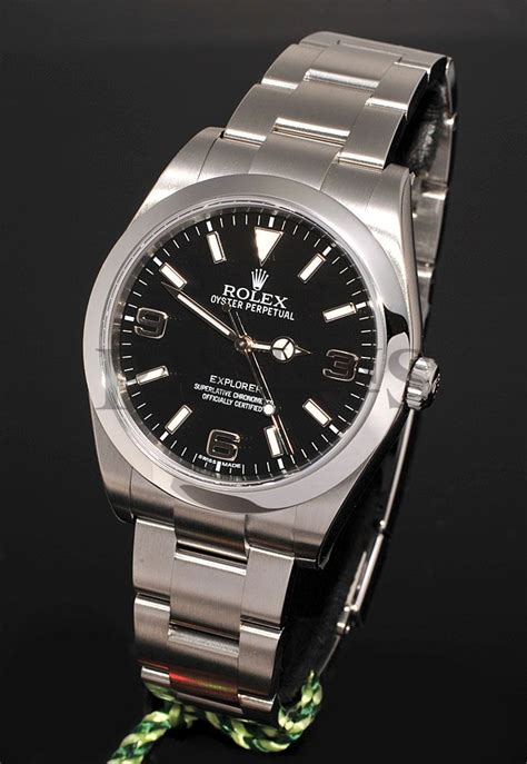 rolex oyster perpetual 39mm quot explorer quot ref 214270 chronometer in steel passions exchange