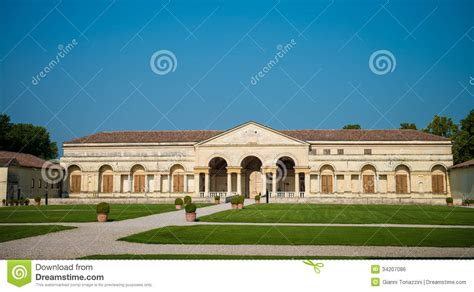 Italian Garden Mantua by Mantua Palazzo Te Royalty Free Stock Image Image 34207086