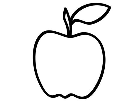 blank apple coloring page golden delicious apple coloring page coloring pages
