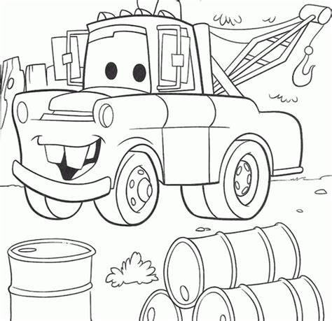 Disney Cars Mater Coloring Pages Beautiful Coloring Disney