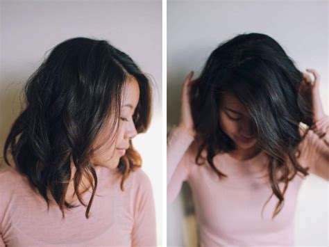 tutorial wavy lob hey pretty thing hair tutorial wavy long bob hair