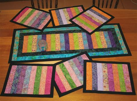 Quilted Placemat Patterns by Koolkat S Quilting Sushi For Tea