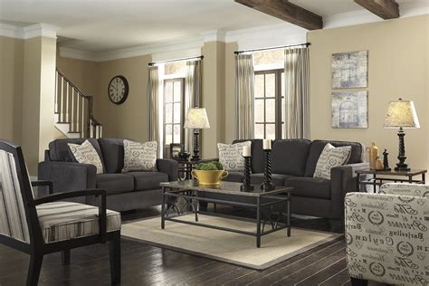 Faux Finish Walls dark gray couch living room ideas grey accent colors room