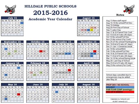 printable calendar 2016 school 2014 and 2015 academic calendar printable page 2 new