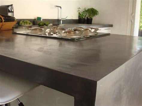 Beton Küchenarbeitsplatte by Wohnung Modern Renovieren