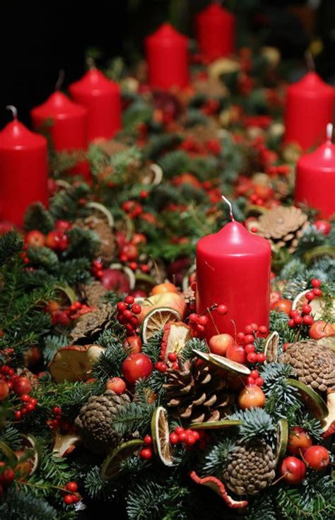 fresh christmas decorations   nature lovers
