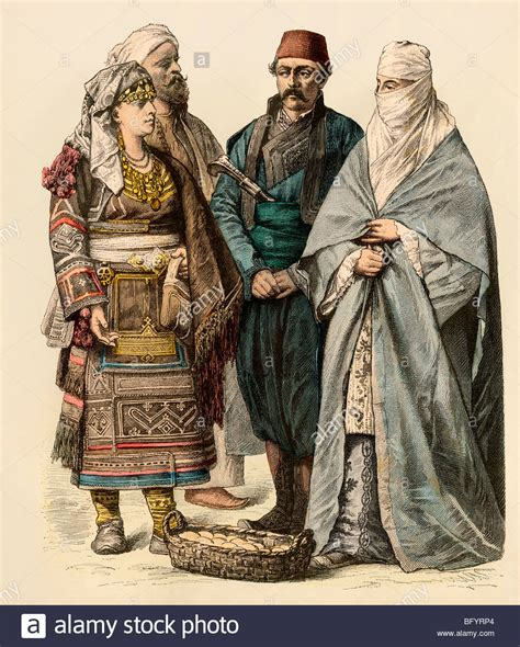 ottoman man couple from the ottoman empire man from adrianople and a