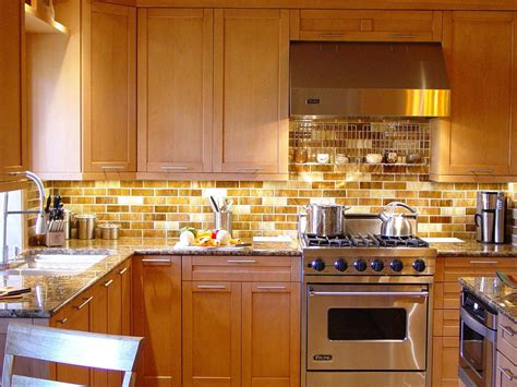 kitchens with backsplash tiles metal tile backsplashes hgtv