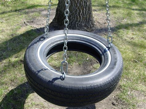 tyre swings making a tire swing tirezoo