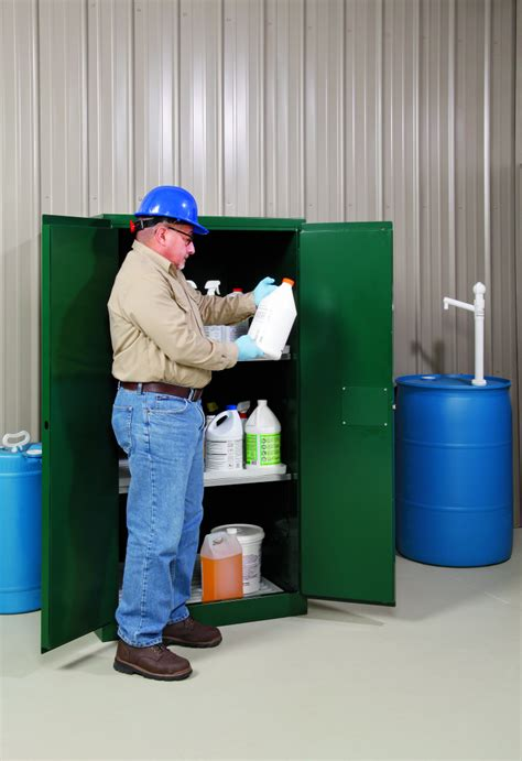 Shelf Of Pesticides by Pig Pesticide Safety Cabinets Class Leading Features For