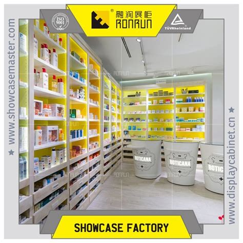 Medical Store Display Wall Cabinet And Cashier Counter Design,Medical Shop Furniture   Buy