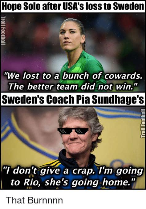 Hope Solo Memes - 25 best memes about sweden sweden memes