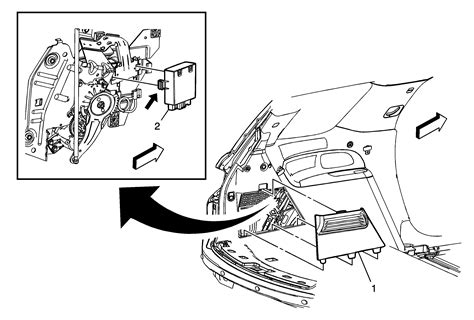 Repair Instructions Accessory And Liftgate Control