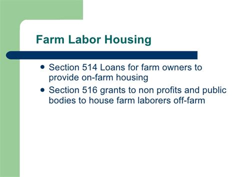 Section 32 Loans by Ohio Rural Development
