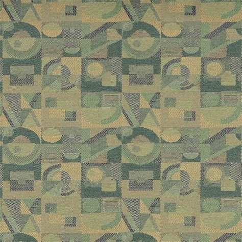 abstract upholstery fabric green and gold abstract geometric durable upholstery