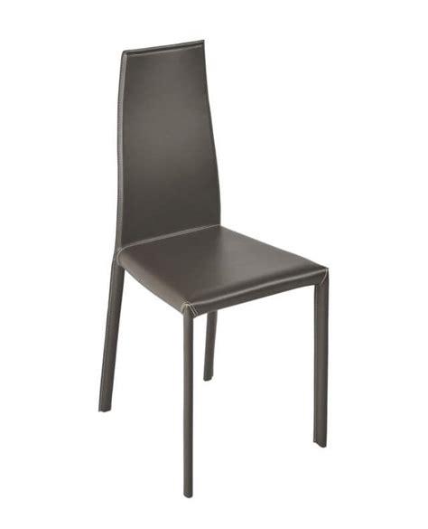 sia arredo sedia moderna rivestimento in cuoio ideale sia per l