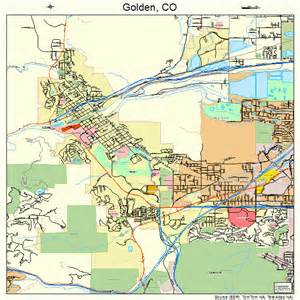 golden colorado map 0830835