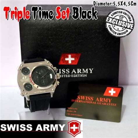 Swiss Army Vactor Black Hari Tanggal Aktif baju pelangsing 085868786999 pin bbm 2a50f5c8