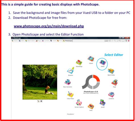 html tutorial guide photoscape manual tutorial free download for easy photo