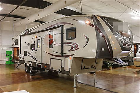 fifth wheel cers with bunkhouse and outdoor kitchen new 2014 34tbok 6 5th fifth wheel bunkhouse travel trailer