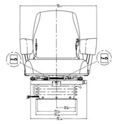 deere 4430 air ride seat pmb product