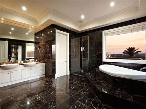 bathroom granite ideas modern bathroom design with twin basins using granite