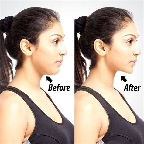 how to make a double chin look less noticable eith hair 17 best images about lets face it facial exercises