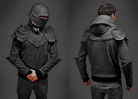 Armour Kaos Oblong Tr01 Black armored hoodie cool gifts