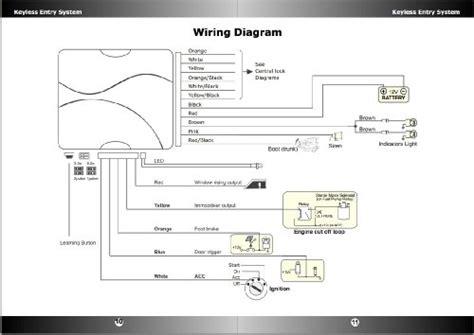 scorpion alarm wiring diagram 29 wiring diagram images