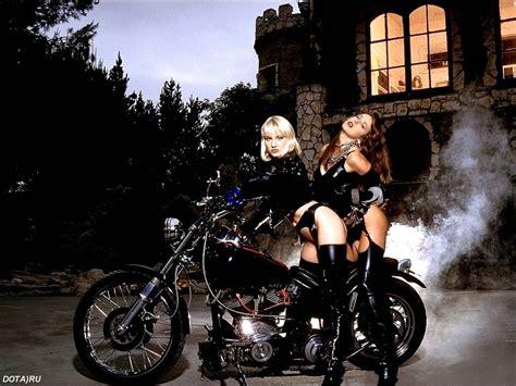 mercenary garage chopper girls