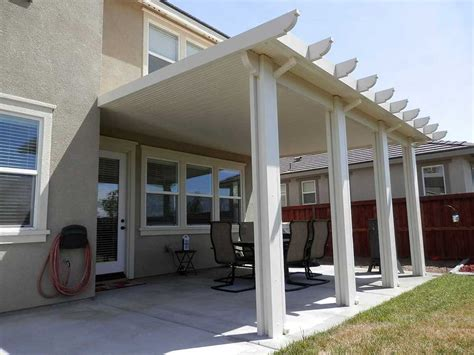 Los Angeles Patio Covers by Orange County Solid Patio Cover Wood Vs Aluminum Patio