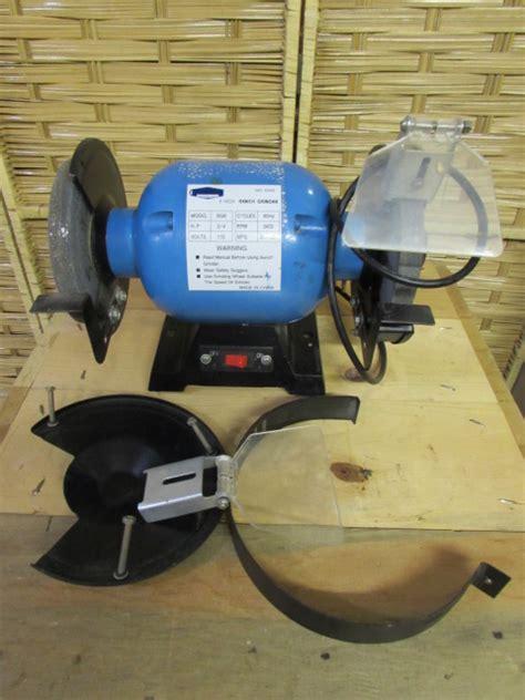 cummins bench grinder lot detail cummins tools 6 quot bench grinder