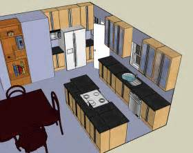 Design Own Kitchen Layout Kitchen Layout Design