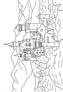 coloring castle castle coloring pages coloringpages1001
