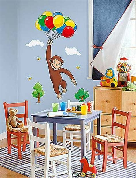curious george bedroom ideas curious george bedding and room decorations modern