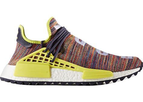 adidas human race adidas human race nmd pharrell multi color