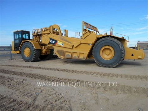 2014 Caterpillar 631G Scraper For Sale, 1,968 Hours