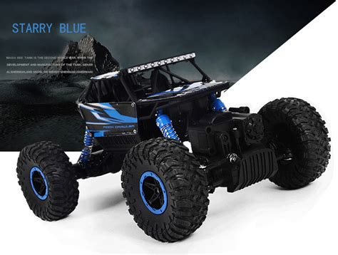 Rc Offroad Bigfoot Climber 4wd Rock Crawler 2 4 Ghz Biru 2 4ghz 1 18 scale 4wd remote buggy