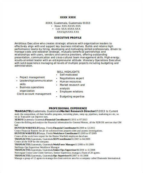 marketing resume exles 47 free word pdf documents free premium templates