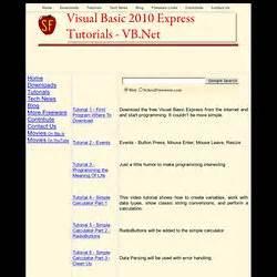tutorial visual basic net 2010 pdf visual basic pearltrees