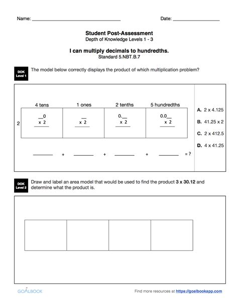 5 Nbt 5 Worksheets by 5 Nbt 5 Fluently Multiply Multi Digit Numbers Math