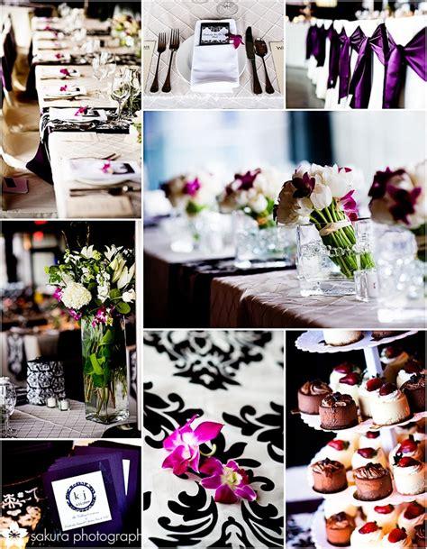 mariage baroque noir et blanc damask tendance boutik