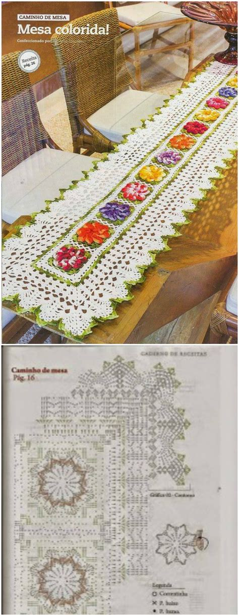 7 Gorgeous Table Runners by Gorgeous Crochet Table Runner Free Patterns Diy Home Decor