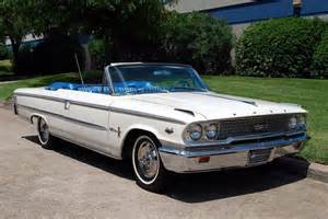 1963 ford galaxie 500 xl r code convertible auto
