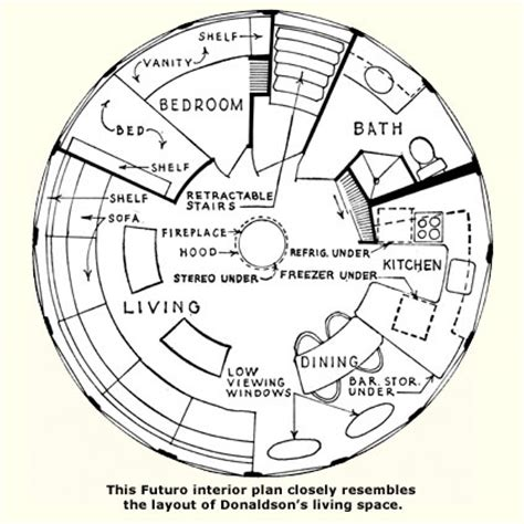 floor plans for round homes falling for a futuro page 2 eichler network