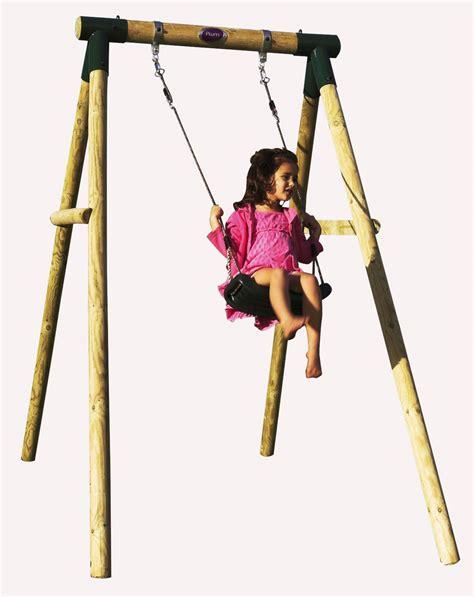 swing pole ref 27032bush baby 174 wooden pole swing set free delivery