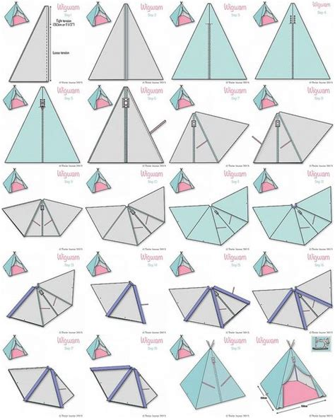 How To Make A Teepee Out Of Paper - 25 best ideas about teepees on teepee