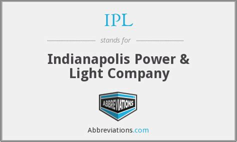 Indianapolis Power Light by Ipl Indianapolis Power Light Company